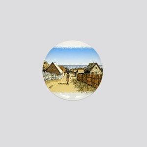 Plimoth Plantation Mini Button