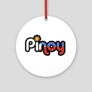 pinoy Ornament (Round)