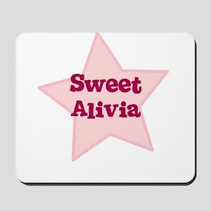 Sweet Alivia Mousepad