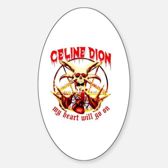 Unique Dion Sticker (Oval)