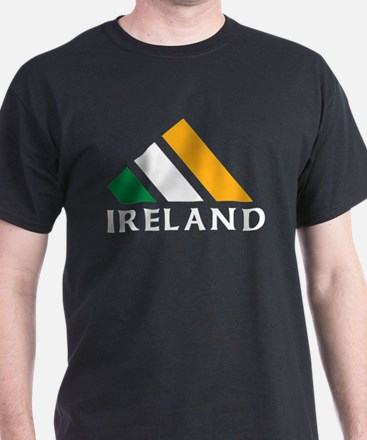 Ireland Black T-Shirt