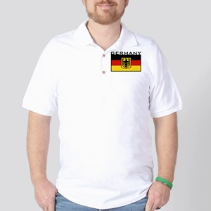 German Flag Golf Shirt