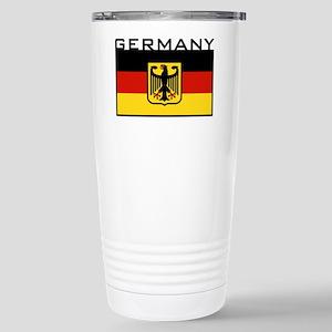 German Flag Stainless Steel Travel Mug