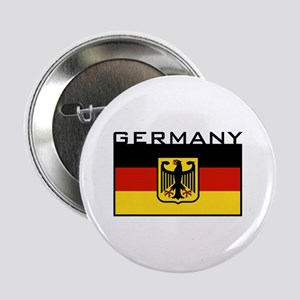 "German Flag 2.25"" Button"