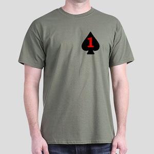 1-506th Infantry Battalion Dark T-Shirt 2