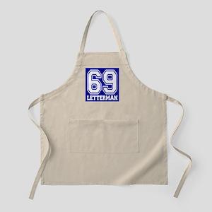 69 LETTERMAN BBQ Apron