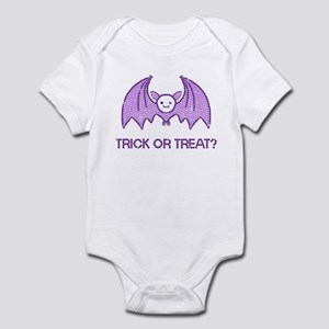 Halloween Rhinestone Bat Infant Bodysuit
