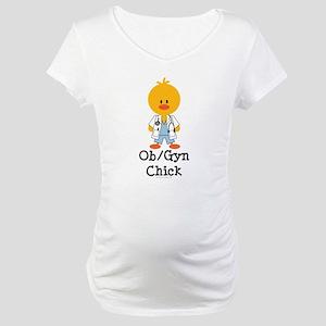 OB/GYN Chick Maternity T-Shirt