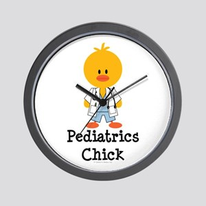 Pediatrics Chick Wall Clock