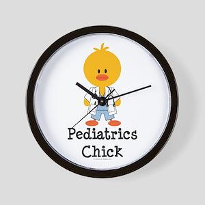 Pediatrics Chick Wall Clock