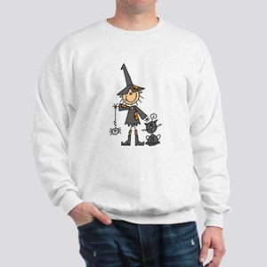 Witch and Cat Sweatshirt