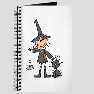 Witch and Cat Journal