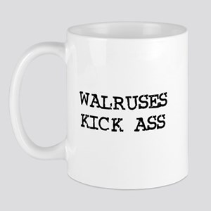 Walruses Kick Ass Mug