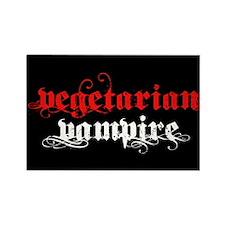 Vegetarian Vampire Rectangle Magnet