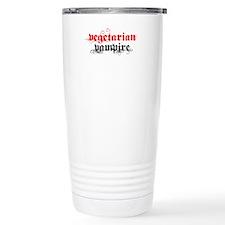 Vegetarian Vampire Stainless Steel Travel Mug