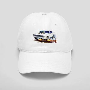 Cuda White Car Cap