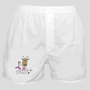 Dancer Reindeer Boxer Shorts