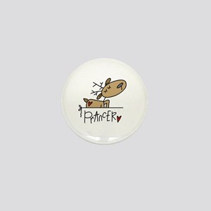 Prancer Reindeer Mini Button