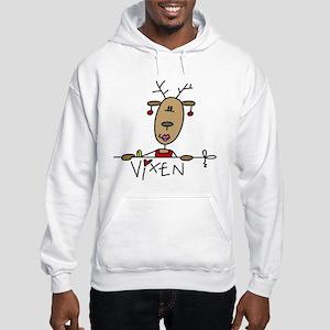 Vixen Reindeer Hooded Sweatshirt