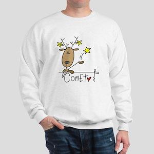 Comet Reindeer Sweatshirt