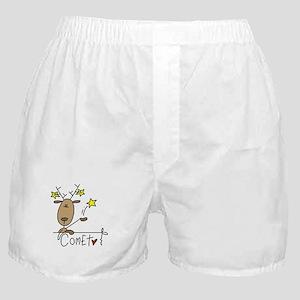 Comet Reindeer Boxer Shorts