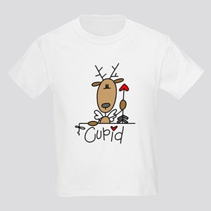 Cupid Reindeer Kids Light T-Shirt