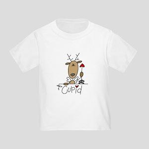 Cupid Reindeer Toddler T-Shirt