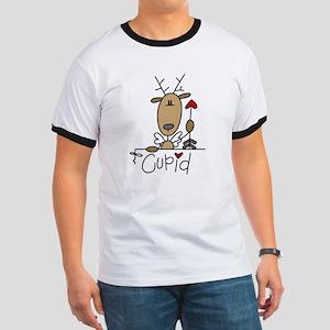 Cupid Reindeer Ringer T