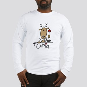 Cupid Reindeer Long Sleeve T-Shirt