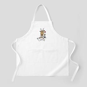 Cupid Reindeer BBQ Apron