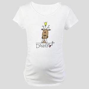Donner Reindeer Maternity T-Shirt