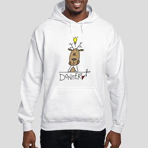 Donner Reindeer Hooded Sweatshirt