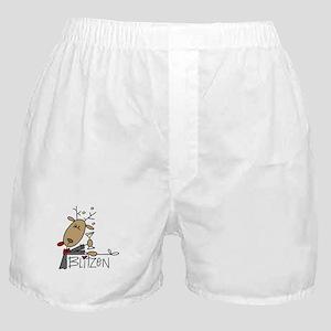 Blitzen Reindeer Boxer Shorts