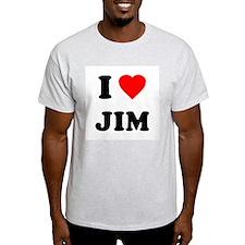 I Love Jim Light T-Shirt