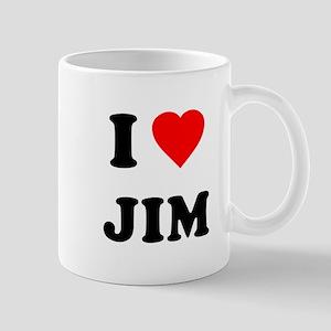 I Love Jim Mug
