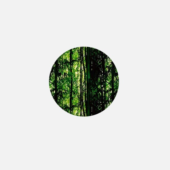 Bamboo Forest Look Mini Button