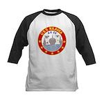 USS Kileuea (AE 26) Kids Baseball Jersey