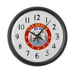 USS Kileuea (AE 26) Large Wall Clock