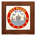 USS Kileuea (AE 26) Framed Tile