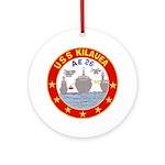 USS Kileuea (AE 26) Ornament (Round)