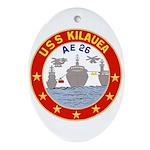 USS Kileuea (AE 26) Oval Ornament