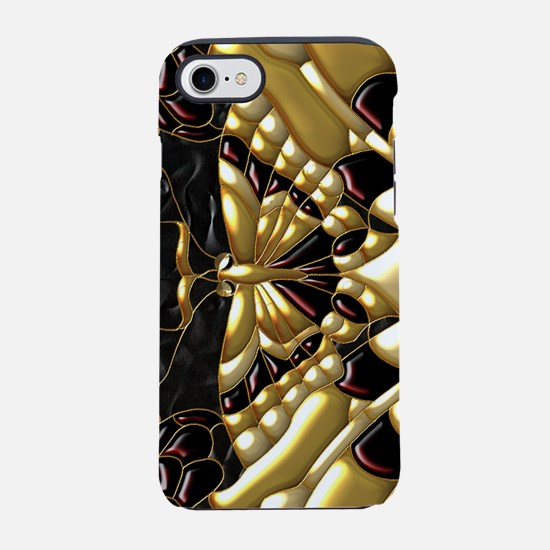 Harvest Moons Masquerade Masks iPhone 7 Tough Case