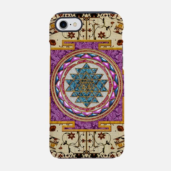 Harvest Moons India Mandala iPhone 7 Tough Case