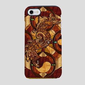 Harvest Moons Yin Yang Dragon iPhone 7 Tough Case