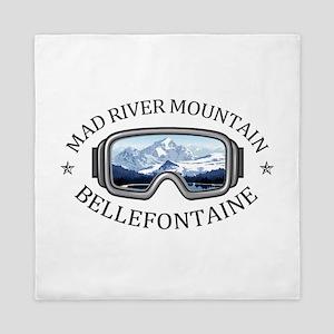 Mad River Mountain - Bellefontaine - Queen Duvet