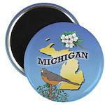 "MICHIGAN 2.25"" Magnet (100 pack)"