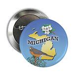 "MICHIGAN 2.25"" Button (10 pack)"