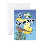 MICHIGAN Greeting Card 01