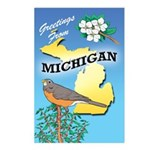 MICHIGAN Postcards 01 (Package of 8)