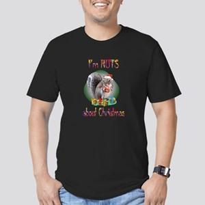 Squirrel Men's Fitted T-Shirt (dark)